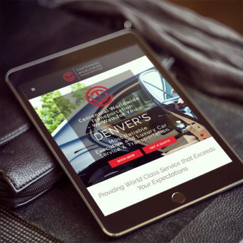 Centennial Worldwide Website Design