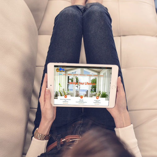 Homestar Companies Website Design