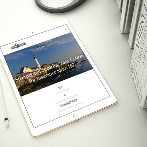 TMRyder Insurance Website Design