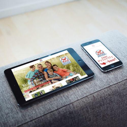 Wallace Home Medical Supplies Website Design